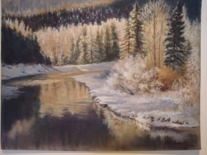 Ice Parade, Beth Cook, Pastel