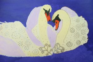 Animal patterns, Swan