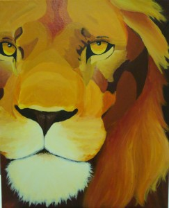 Lion, by Lauren, age 17