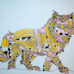 Wolf Pencil Transformation