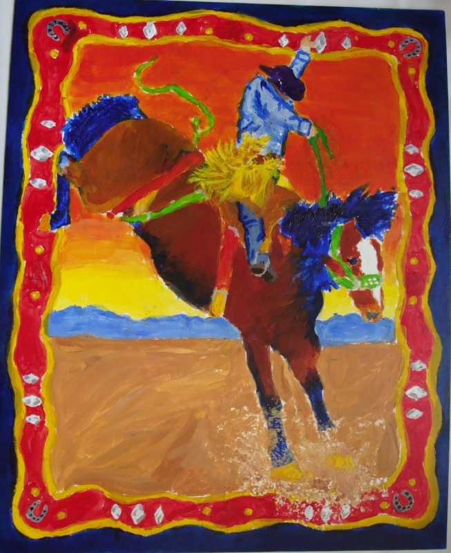 Rodeo Painting–Art 1