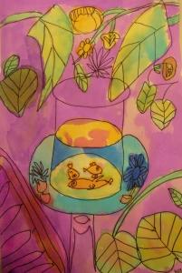 Matisse Goldfish2