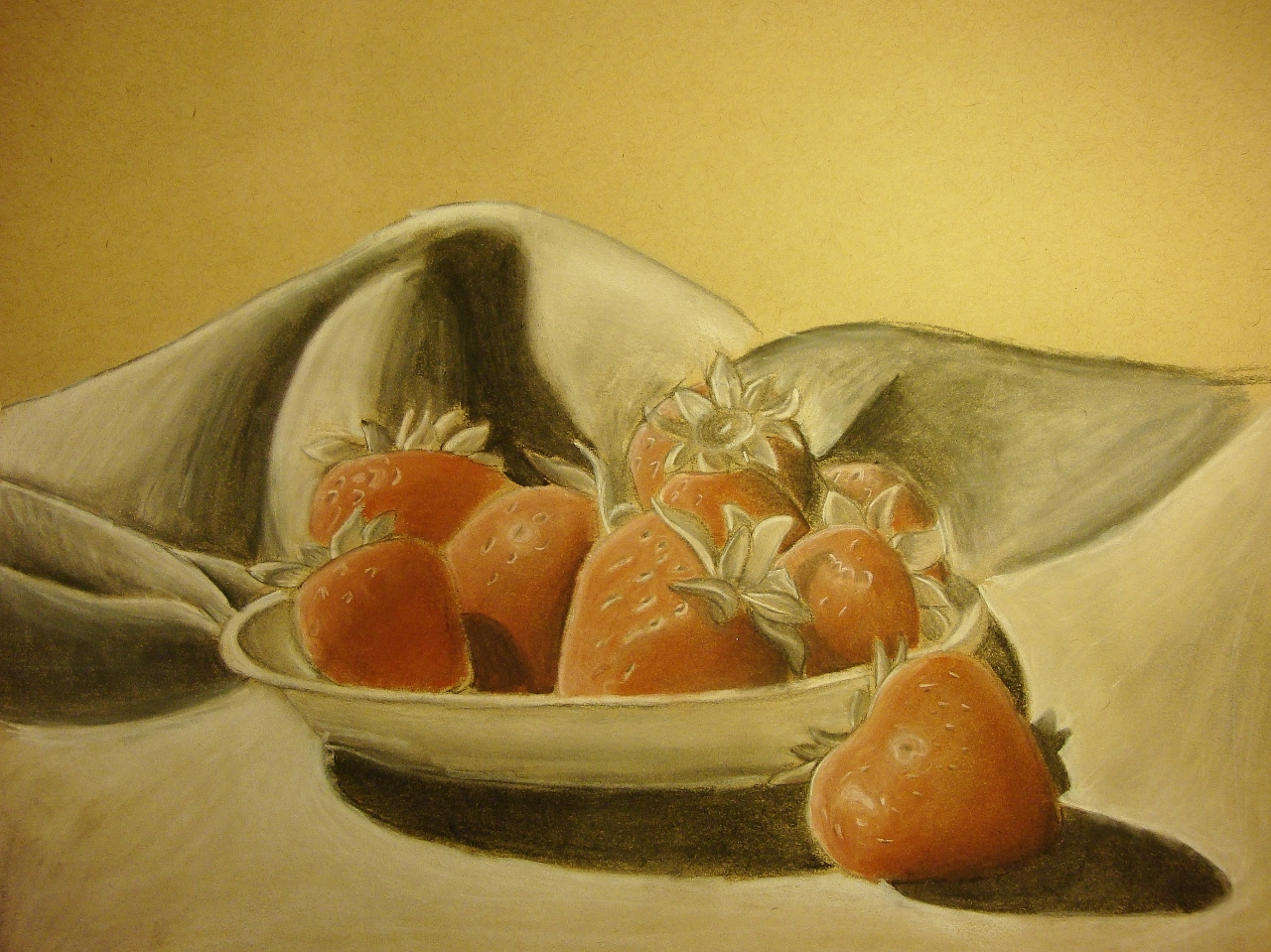 Still Life Strawberries